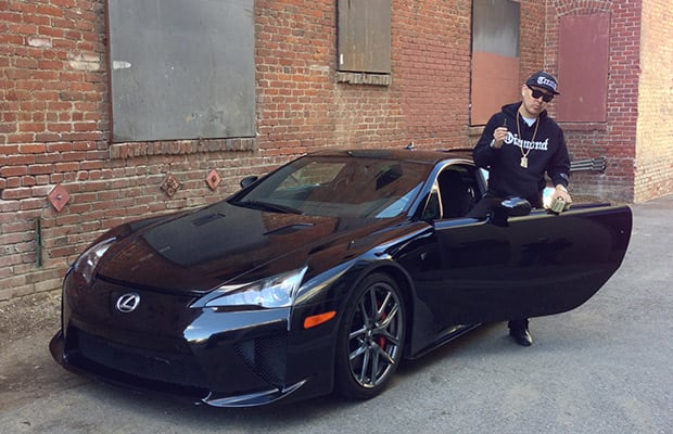 ... When It Comes To The Cars Heu0027s Owned And Driven. After Starting Off In  An U002789 Honda Accord, Ben Recently Tweeted That Lexus Gave Him A $500,000 LFA .