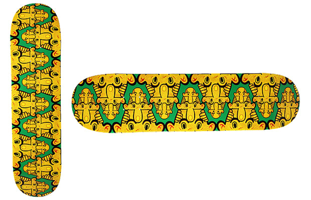 25. Cliver Griffin - The 25 Best Skateboard Graphics of 2012 | Complex