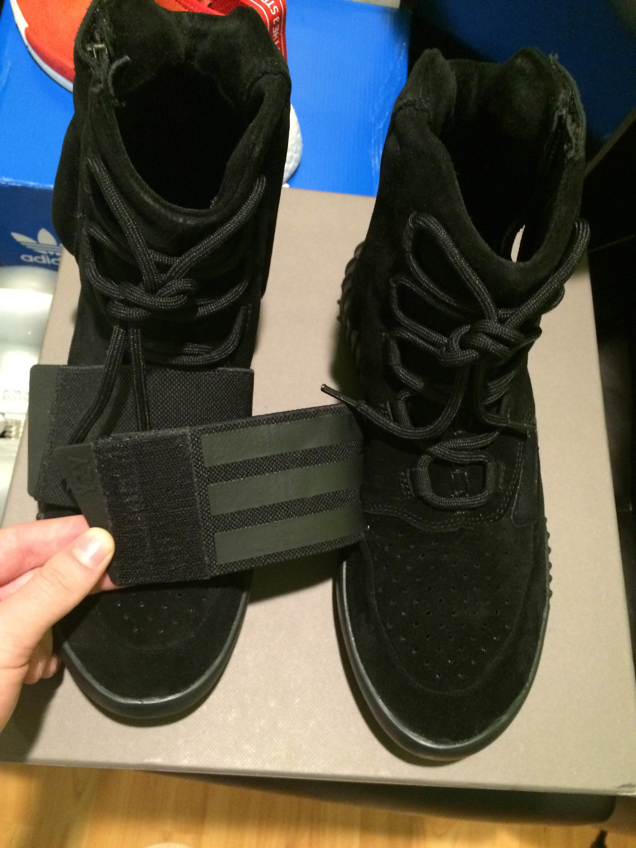 new style f1a33 ed4be 01463766239268img8366  legit check on yeezy 750 black