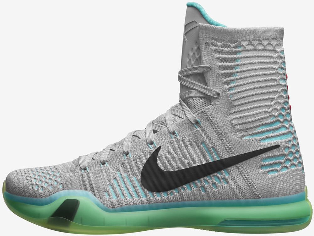 Nike Kobe X Elite High Wolf Grey/White-Light Retro