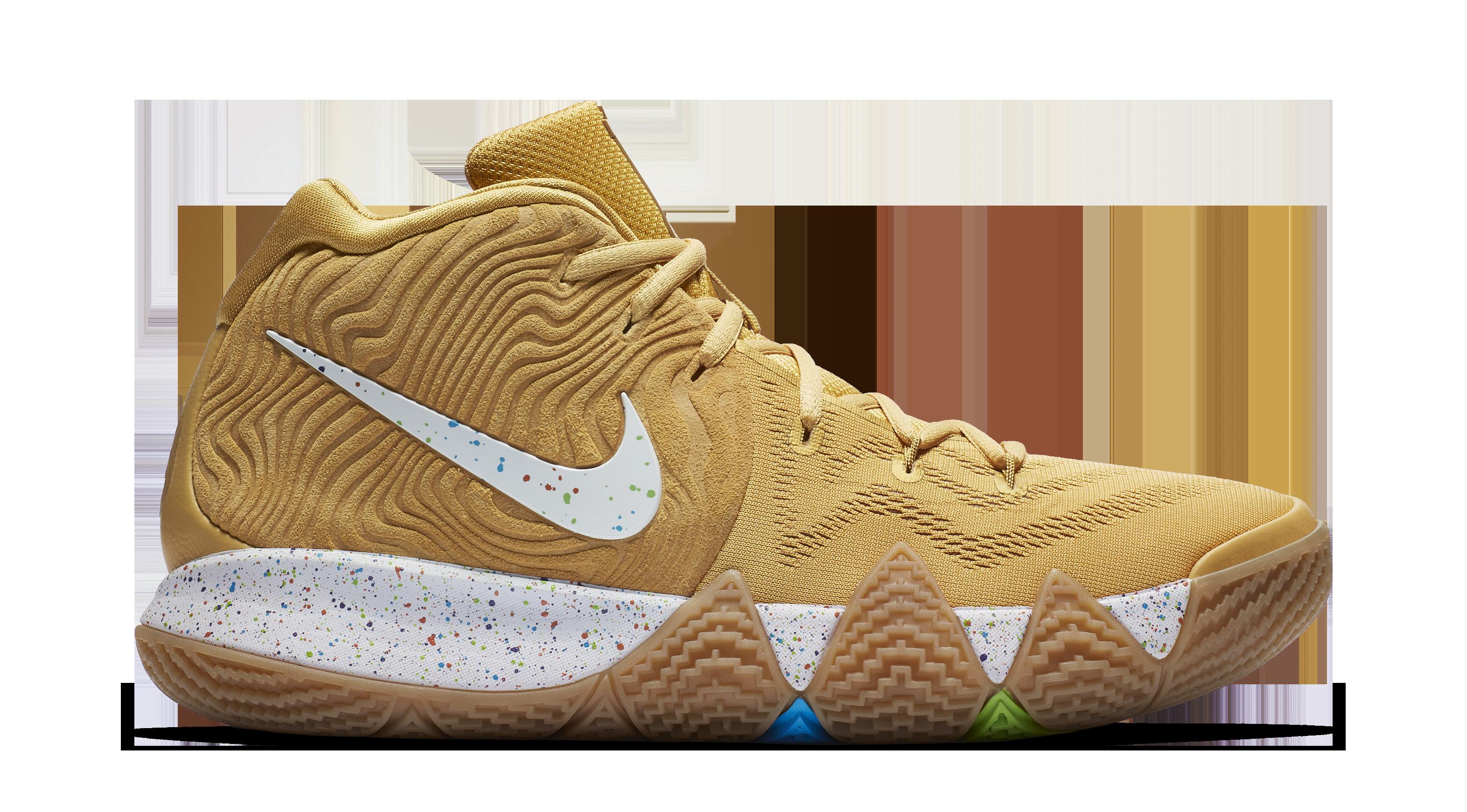 Nike Kyrie 4 'Cinnamon Toast Crunch' BV0426-900 (Medial)