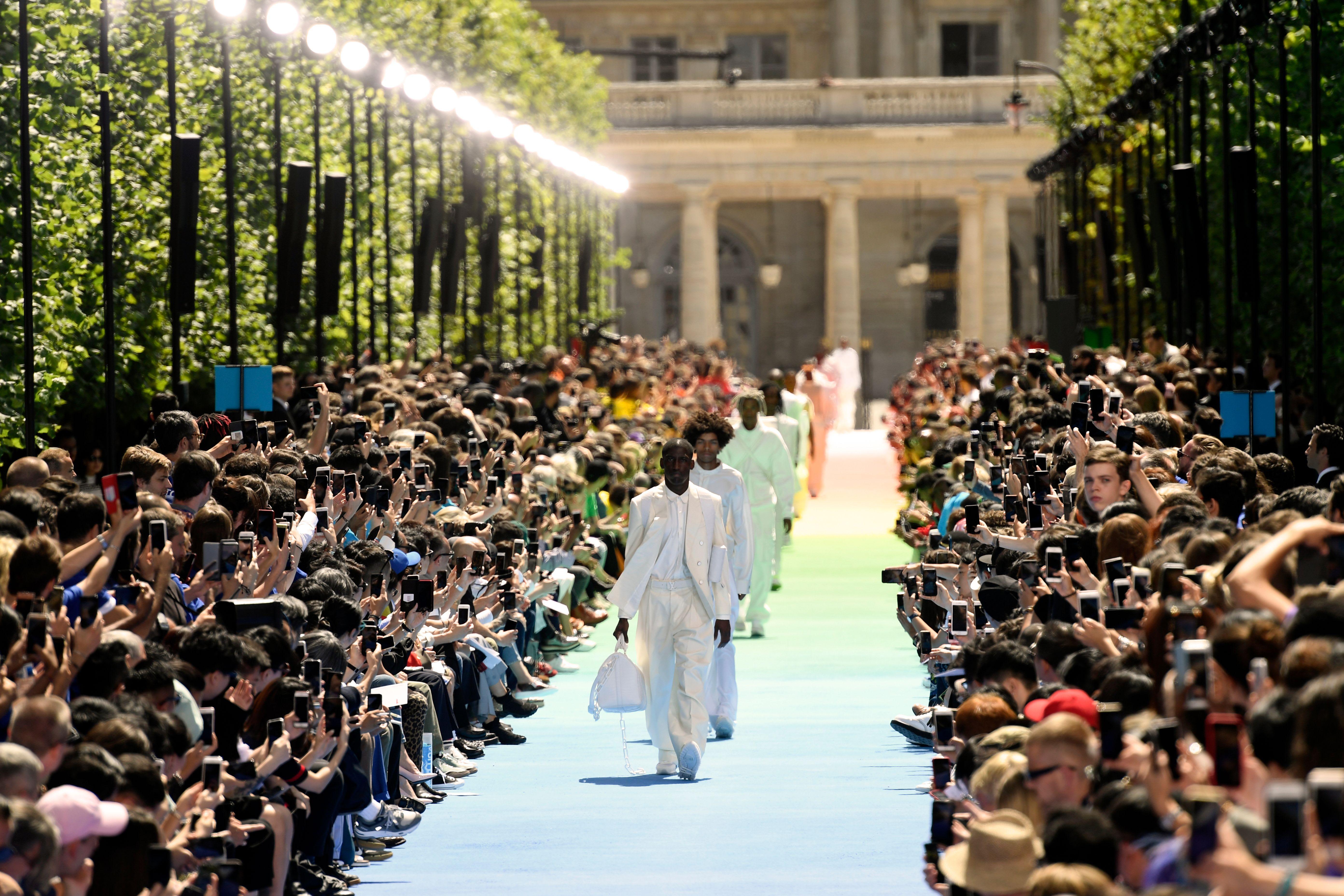 Virgil's Louis Vuitton show