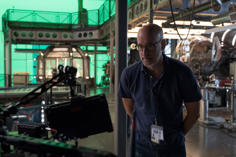 Director Peyton Reed behind the scenes of 'Ant-Man and the Wasp'