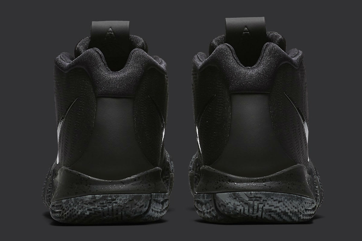 new arrivals 2c7a2 a493b The 'Triple Black' Nike Kyrie 4 Is All-Business – DJScreamTV.com