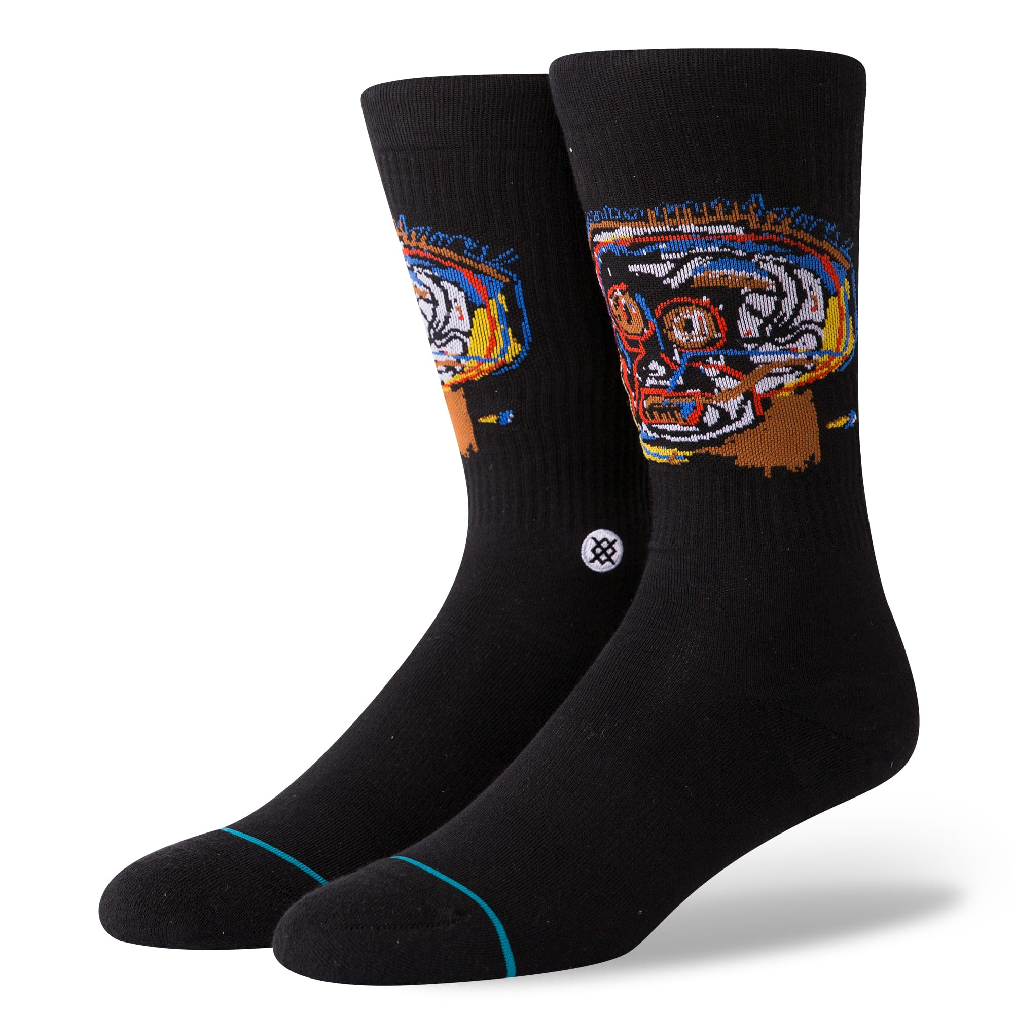 Stance Has Released A New Collection Of Jean-Michel Basquiat-Themed Socks