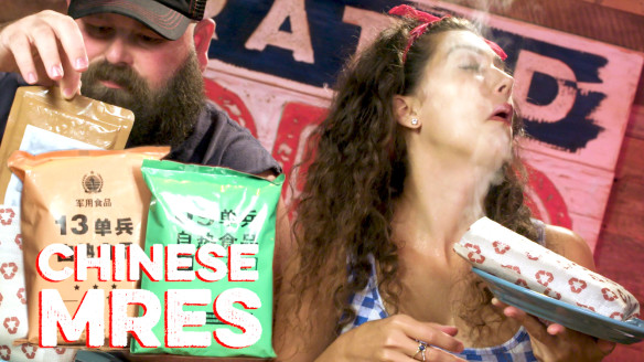 Americans Try Chinese MREs