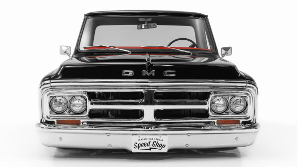 "1972 GMC 1500 Custom ""Black Betty"" 