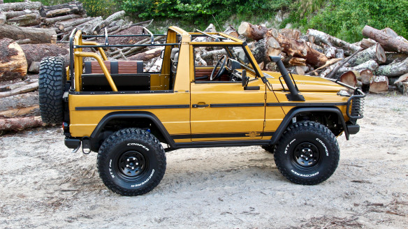 "1990 Mercedes-Benz G-Class ""Wolf"" 