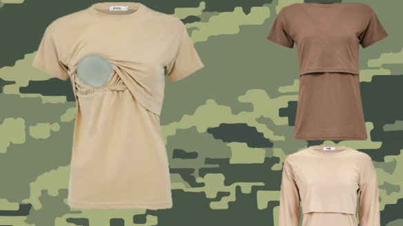 U.S. Air Force Approves New Breastfeeding T-Shirts
