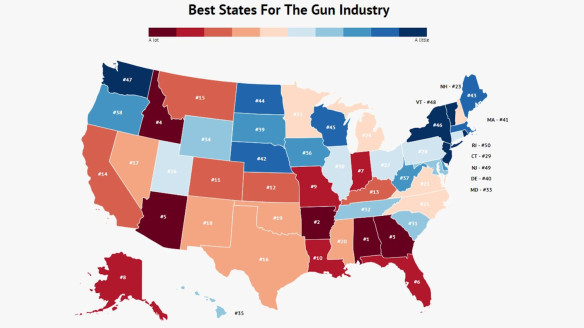 These Are The Most Firearm-Friendly States In The Country