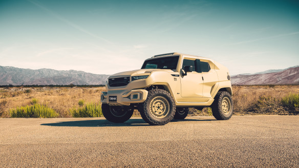 Rezvani Tank Military Edition | Ride of the Week
