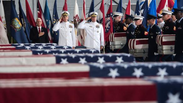 Remains of Fallen Korean War Servicemembers Arrive Back On American Soil