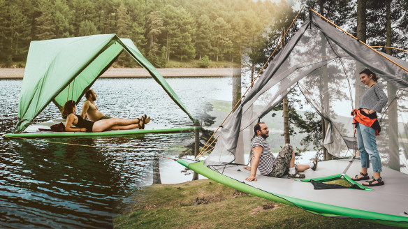 This Tent Is Part Paddle Board, Part Treehouse...