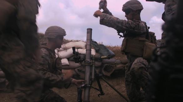 U.S. Marines Conduct Tactical Marksmanship Training