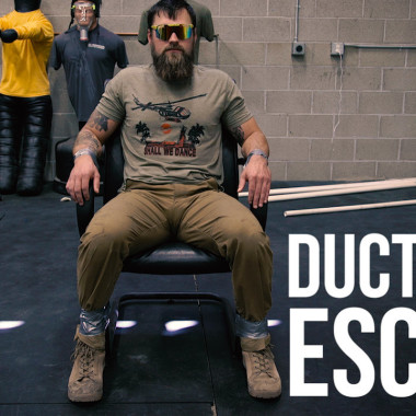 How to Escape Duct Tape Restraints