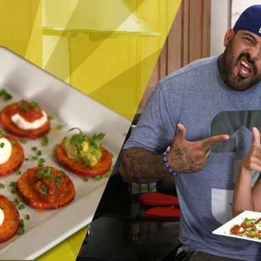Recipes with Rocco: Mexican-Style Sweet Potato Bites