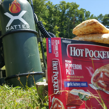 Cooking Hot Pockets with a Flamethrower
