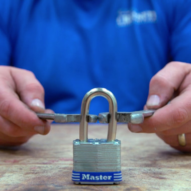 Breaking a Padlock with Wrenches