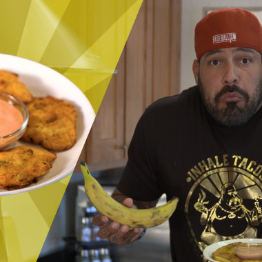 Recipes with Rocco: Tostones