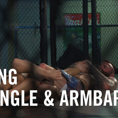 MMA Breakdown: Flying Triangle & Armbar