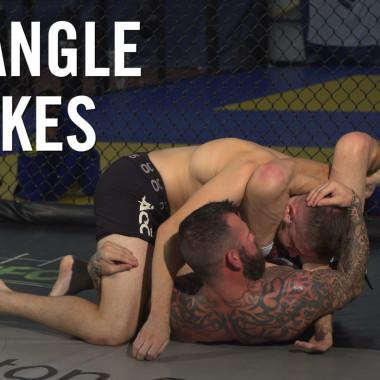 MMA Breakdown: Triangle Chokes