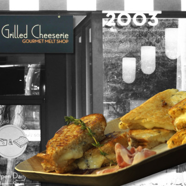 Red Hot Cookin': Gourmet Grilled Cheese