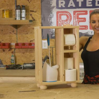 Red Hot Buildin': Potty Shelf