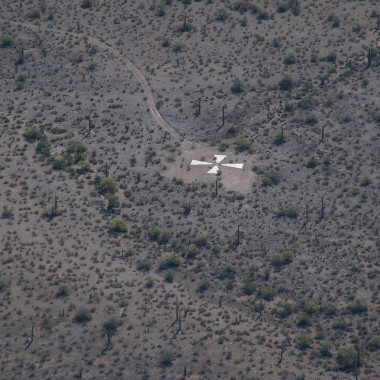Strange Heartland History: Why Are There Giant Xs in the Arizona Desert?