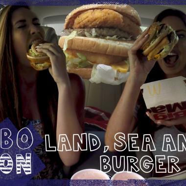 COMBOnation: McDonald's Land, Sea and Air Burger