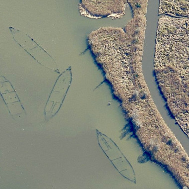 Strange Heartland History: Why Are There All These Sunken Boats in a Louisiana Bayou?