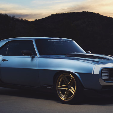 Mod Madness: 1969 Chevy Camaro G-Code by Ringbrothers
