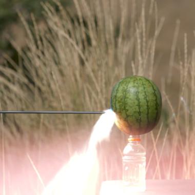 Watch Cam Hanes Wreck a Watermelon With an Arrow