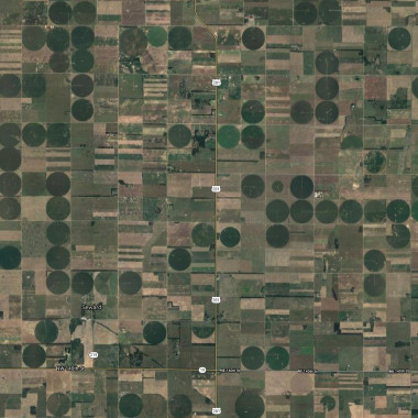 Strange Heartland History: Why You See Thousands of Squares When You Fly Over America