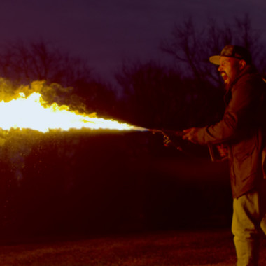 TORCH IT: We Take a Flamethrower to R2-D2
