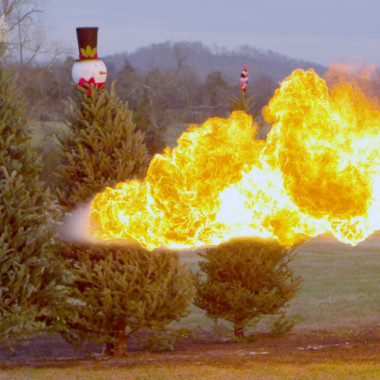 TORCH IT: Christmas Tree Edition