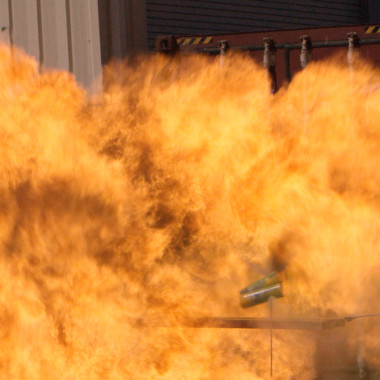 Here's What Happens When You Combine Spray Paint, a Flame and an Arrow