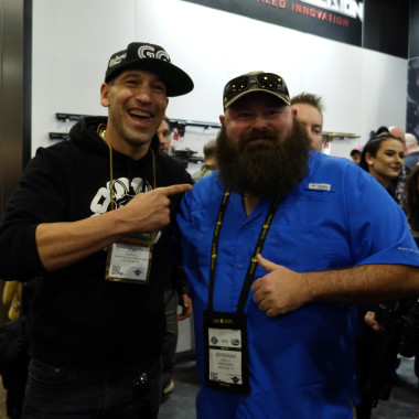 We Ran into Jon Bernthal, AKA The Punisher, at Shot Show 2018