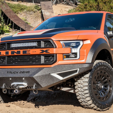 A Beefy Raptor Coated in Line-X? Yes, Please