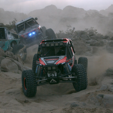 The King of the Hammer's Unlimited Class Features the Ultimate in Off-Road Vehicles