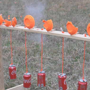 How to Make a Soda Can and Clay Plinking Target
