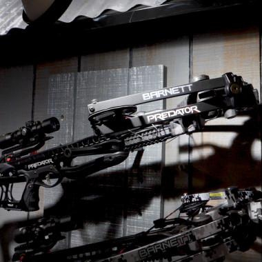 Alabama Boss Checks Out Barnett's New Predator Crossbow