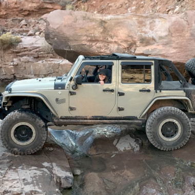 Abby Casey Earns Her Trail Badge on Kane Creek at EJS 2018