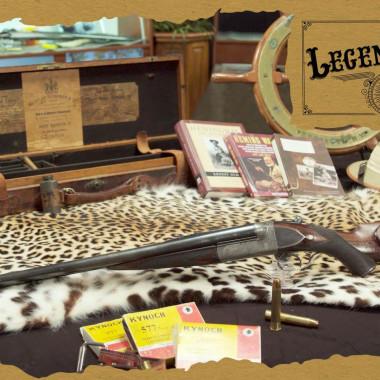 Ernest Hemingway's .577 Nitro Express | Legendary Firearms