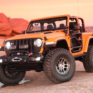 """The 2018 """"Nacho"""" Jeep Wrangler Rubicon Is Hard to Miss"""
