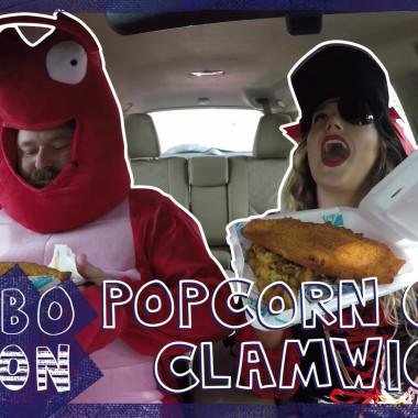 We Try Captain D's Popcorn Crab Clamwich | COMBOnation