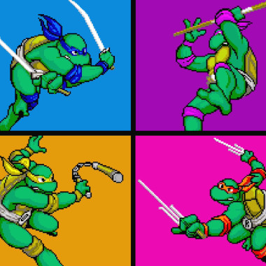 Teenage Mutant Ninja Turtles | Gaming Throwback