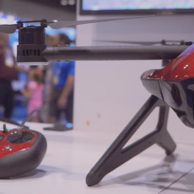 We Check Out Rippton's Fishing Drone at ICAST 2018