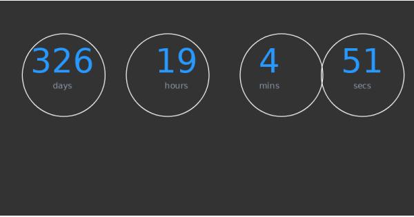 Countdown za brisanje