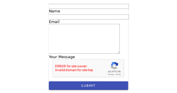 Contact Form with reCaptcha option | mdolm