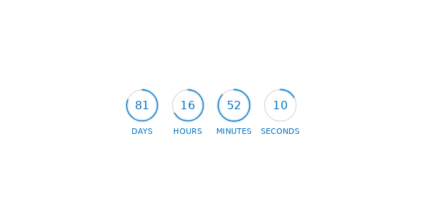 Circled light countdown